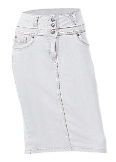 Shop for White & Cream | Denim Skirts | Womens | online at Grattan