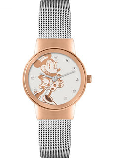 771a30d24d4c Disney Minnie Mouse Ladies Watch with Silver Mesh Strap