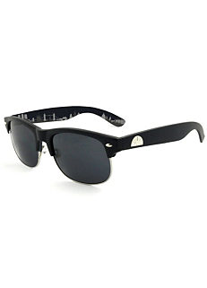 fabf42456ed9 East Village Mens Clubmaster Style Sunglasses In Black With London Skyline