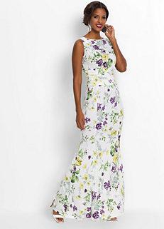 dfb0bbd9cd7 Floral Print Maxi Dress