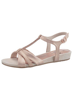 f96cc42c37d Jana Wide Fit Strappy Leather Sandals