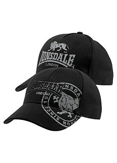 f259a5a5dd7 Lonsdale Pack of 2 Baseball Caps