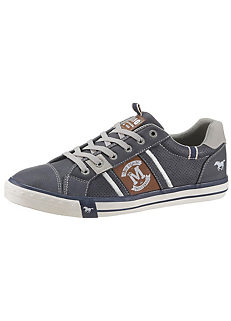 1e7270204c92 Mustang Shoes Faux Leather Trainers