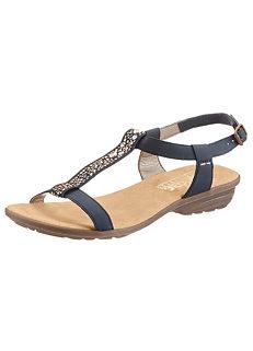 e1229b1cc917 Rieker Wedge Sandals