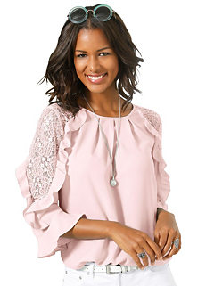 dcd9ad00a0d941 Shop for Pink | Blouses & Shirts | Tops | Womens | online at Grattan
