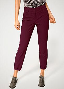 "Heine Cream Beige Soft Feel Cargo Tailored Trousers 29/""W 32/"" Leg Size 10 NEW"