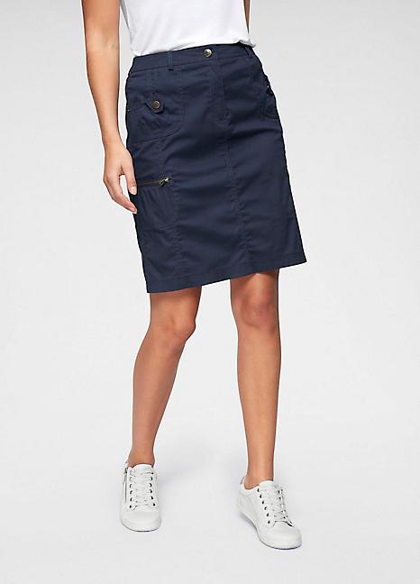af91df3a6c Home>Shop>Women>Skirts>Cheer indigo blue denim button through skirt Size  14. 214 Bandeau. Cheerleader Skirt Leggings