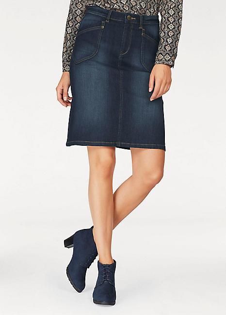 8c56cbf7a9547 Cheer Denim Skirt