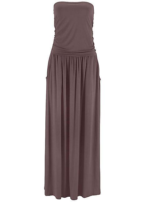 eb32fd3b7be LASCANA Bandeau Maxi Dress