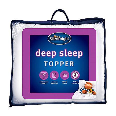 silentnight deep sleep mattress topper grattan. Black Bedroom Furniture Sets. Home Design Ideas