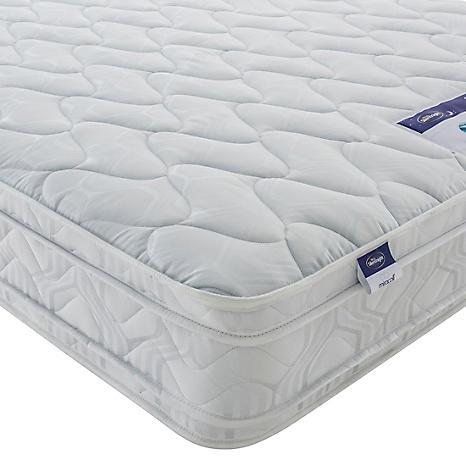 silentnight miracoil luxury cushion top mattress grattan. Black Bedroom Furniture Sets. Home Design Ideas