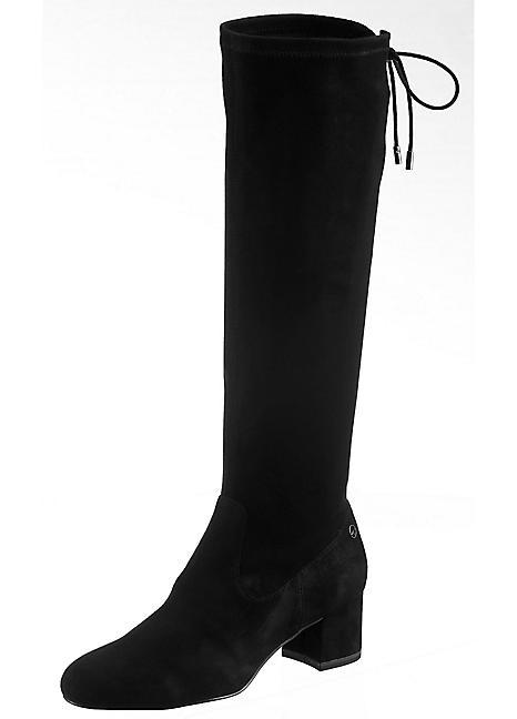 really cheap best quality official Tamaris Knee High Narrow Calf Pedas Boots | Grattan